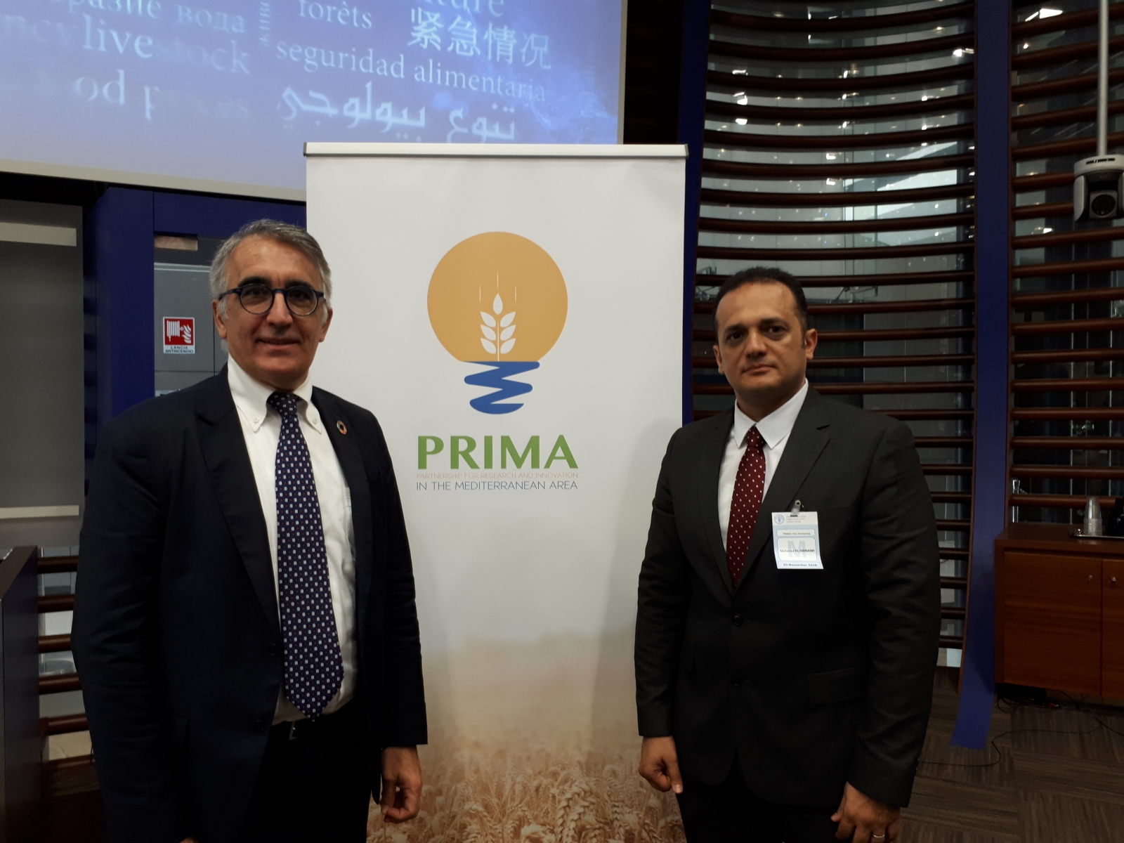 Workshop PRIMA – FAO 20.11.2018