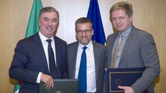 Signing Ceremony of the EU-Algeria PRIMA Agreement,  26 October, 2017