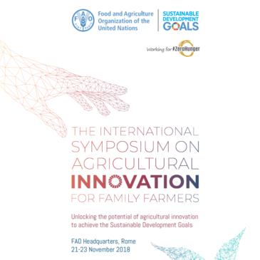 """PRIMA al Simposio InternazionaleFAO """"Agricultural Innovation for Family Farmers"""""""