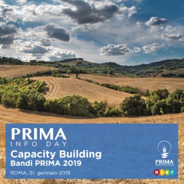 Al via il programma di incontri a supporto dei bandi PRIMA 2019