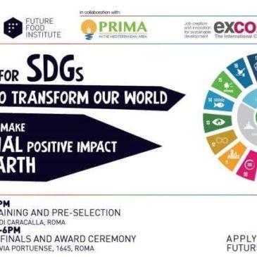 FAO, Future Food Institute e Fondazione PRIMA: un Hackathon internazionale per gli Obiettivi di Sviluppo Sostenibile