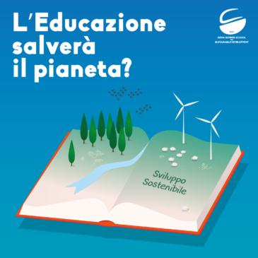 L'educazione salverà il pianeta? Evento pubblico al Santa Chiara Lab
